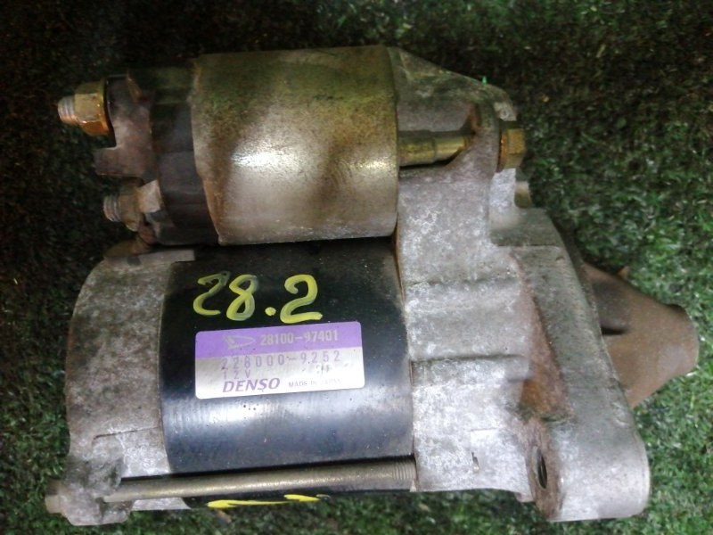 Стартер Daihatsu Yrv M201G K3-VE