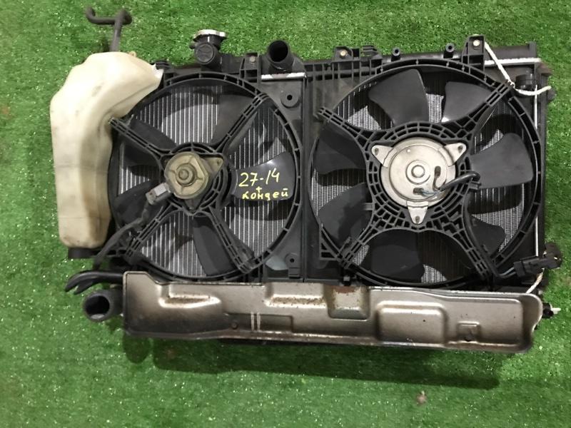 Радиатор двигателя Honda Fit GD2 L13A