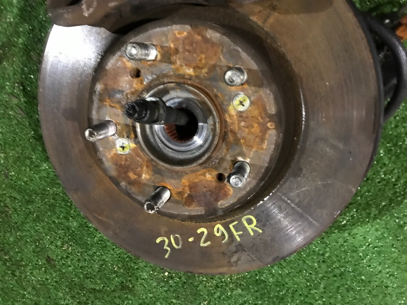 Диск тормозной Honda Edix BE3 K20A передний правый
