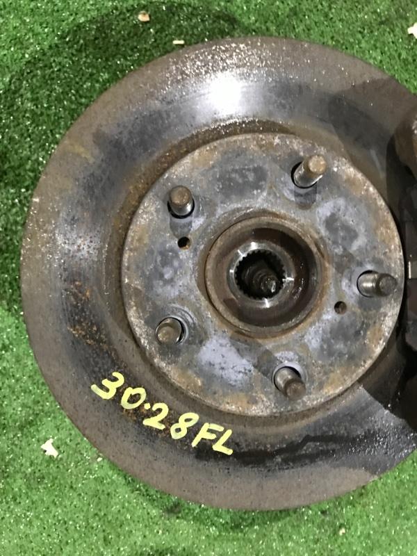 Диск тормозной Toyota Isis ZNM10W 1ZZ-FE передний левый