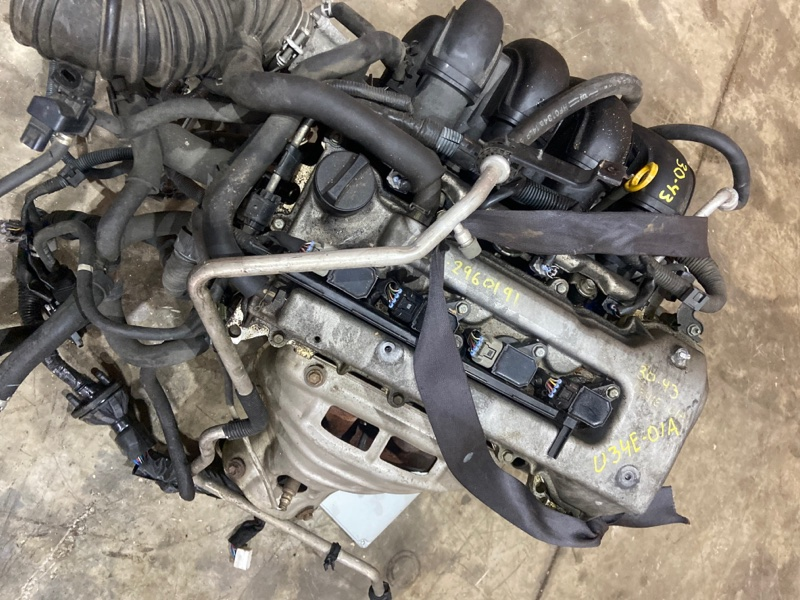 Проводка двигателя Toyota Wish ZNE10G 1ZZ-FE