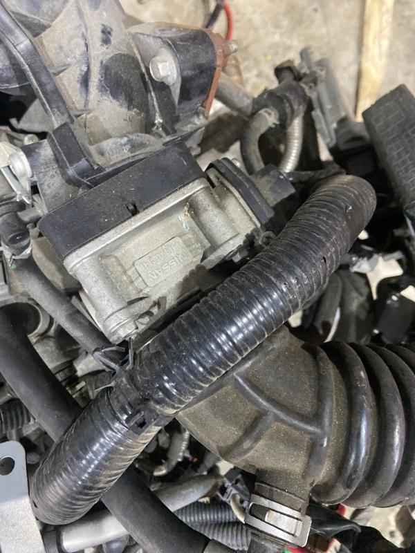 Заслонка дроссельная Nissan Tiida C11 HR15DE
