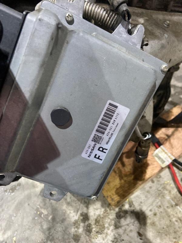 Блок управления двс Nissan Tiida C11 HR15DE