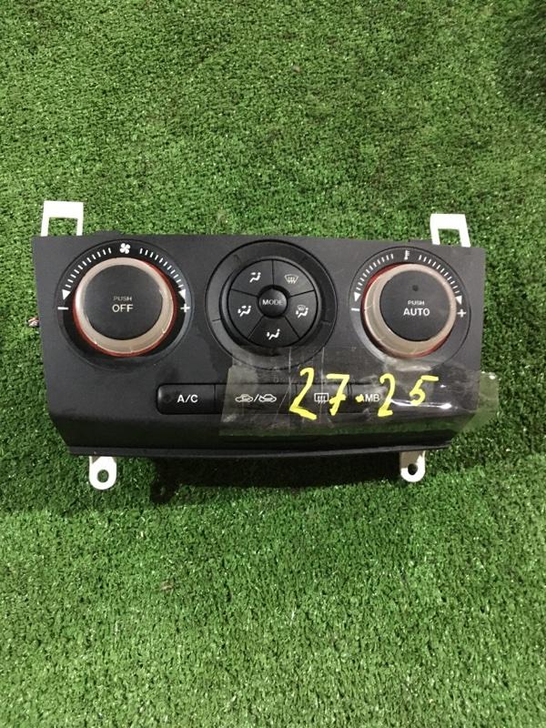 Блок управления климат-контролем Mazda Axela BK5P ZY-VE