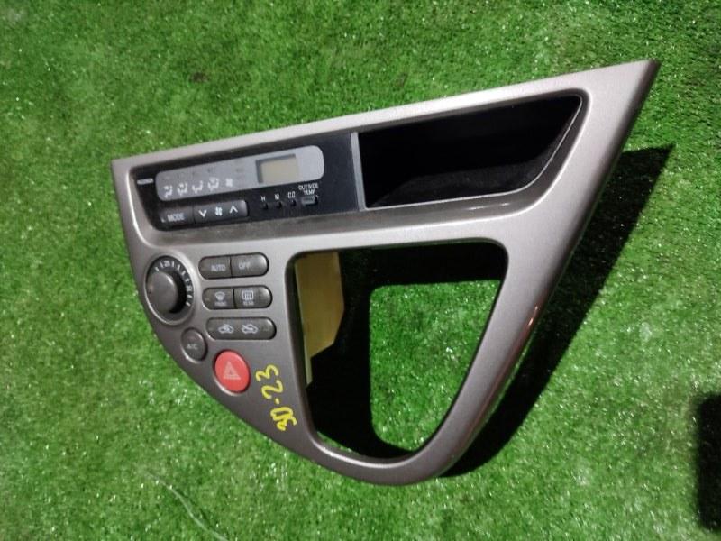 Блок управления климат-контролем Toyota Wish ANE10 1AZ-FSE