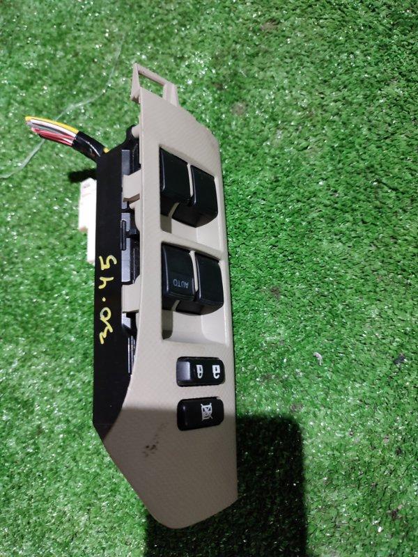 Блок управления стеклоподъемниками Toyota Vitz NCP95 2NZ-FE