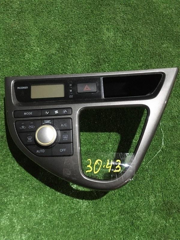 Блок управления климат-контролем Toyota Wish ZNE10G 1ZZ-FE