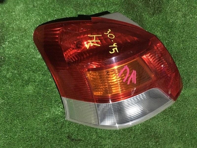Фонарь стоп-сигнала Toyota Vitz NCP95 2NZ-FE левый