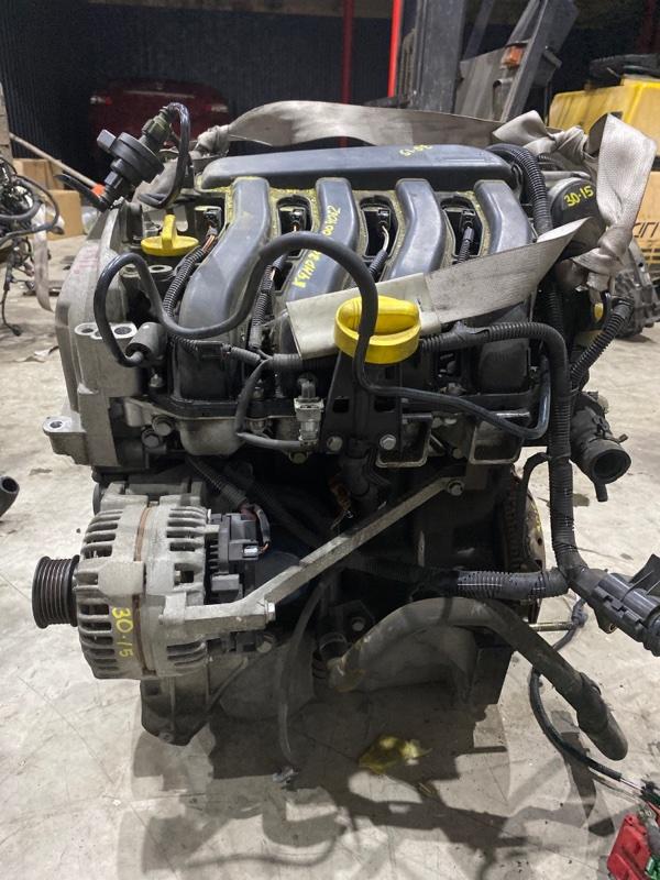 Двигатель Renault Lutecia K4M D800