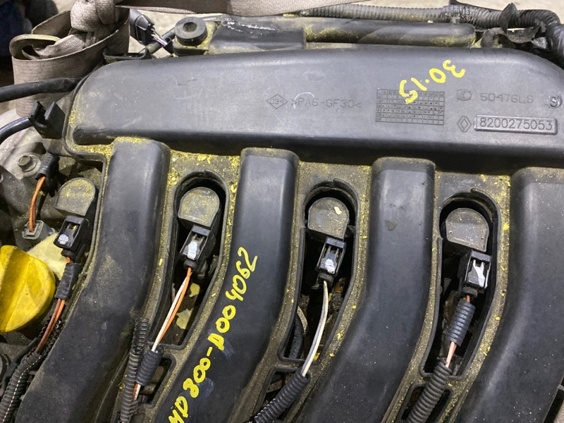 Катушка зажигания Renault Lutecia K4M D800