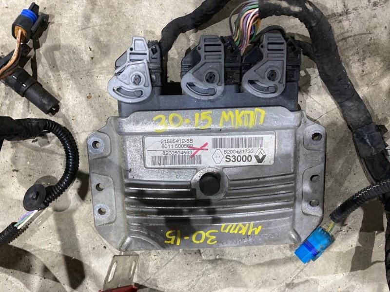 Блок управления двс Renault Lutecia K4M D800