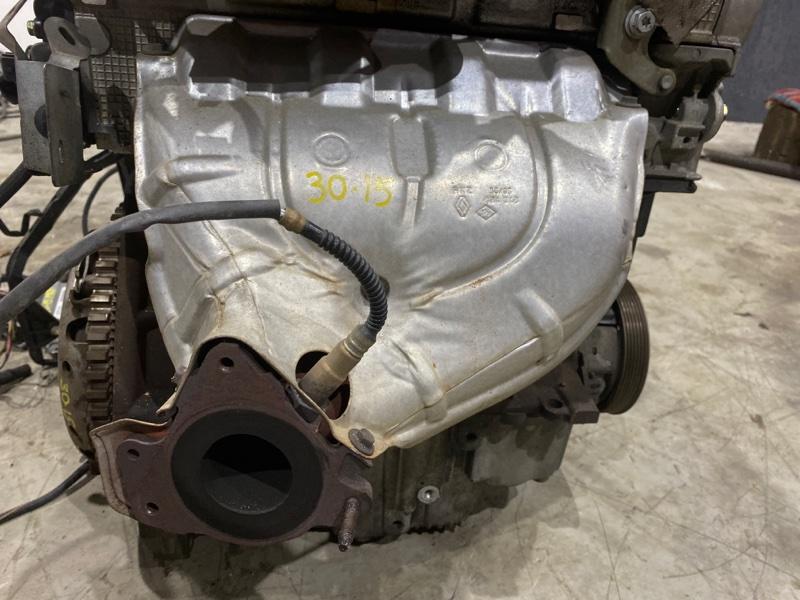 Коллектор выпускной Renault Lutecia K4M D800