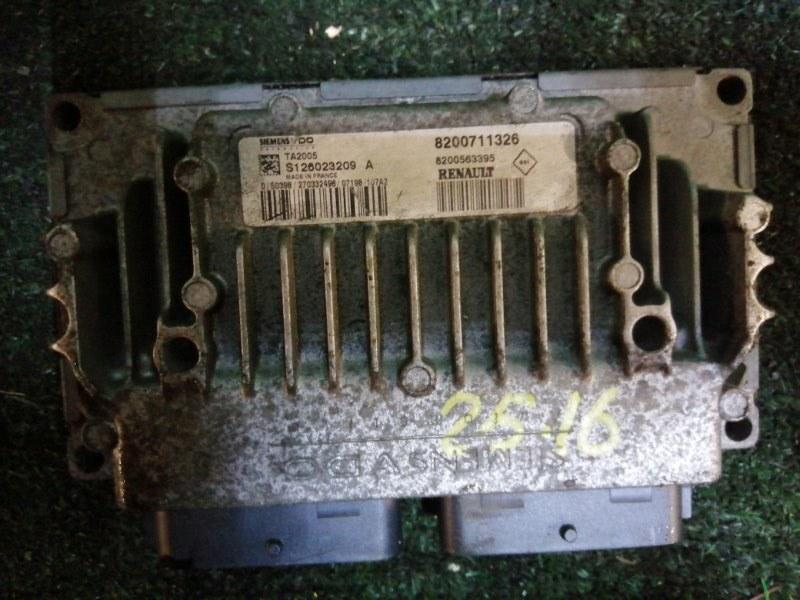 Блок управления кпп Renault Kangoo K4M-753 2007