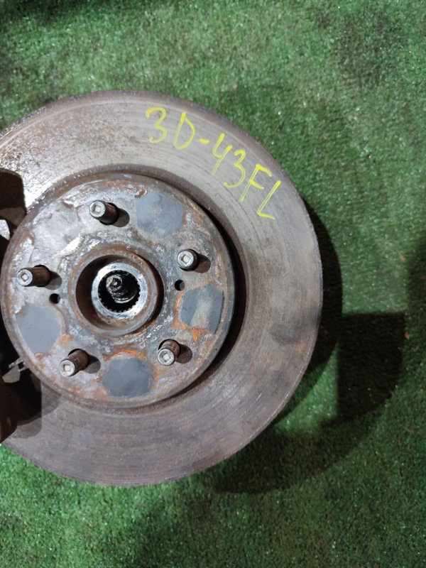 Диск тормозной Toyota Wish ZNE10G 1ZZ-FE передний левый