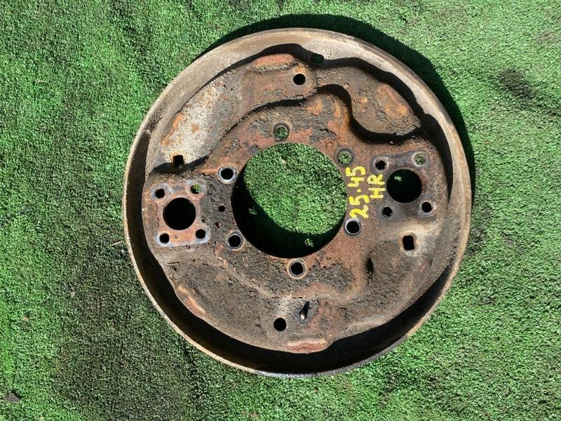 Кожух тормозного барабана Isuzu Elf 4HF1 1994 задний правый