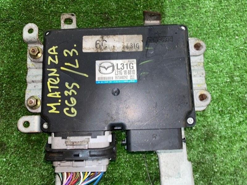 Блок управления двс Mazda Atenza GG3S L3