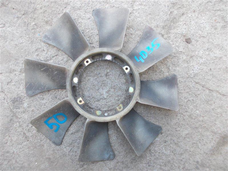 Крыльчатка вентилятора Mitsubishi Canter FE538B 4D35 1995