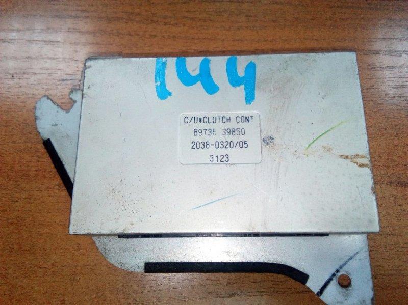 Блок управления двс Isuzu Elf NKR81E 4HL1 2002