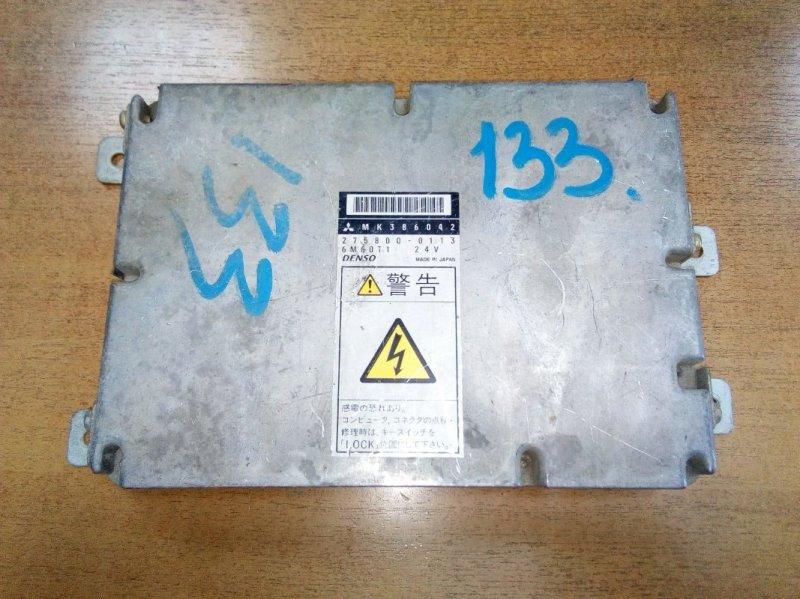 Блок управления двс Mitsubishi Fuso FK61FK 6M60T 2000
