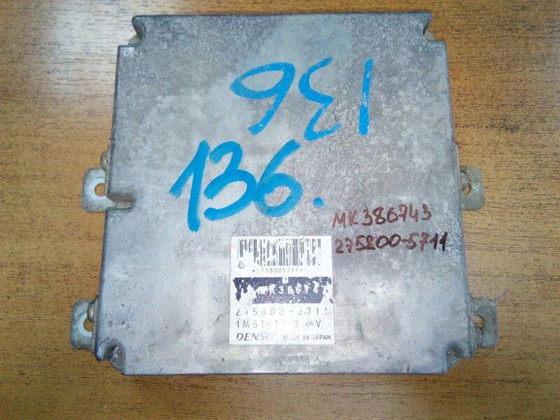 Блок управления двс Mitsubishi Canter FE63EEV 4M51 2001