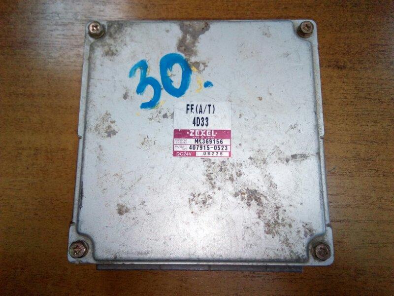 Блок управления двс Mitsubishi Canter FE51CB 4D33 2002