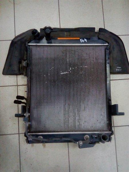 Радиатор охлаждения двигателя Isuzu Elf NPR85 4JJ1 2008