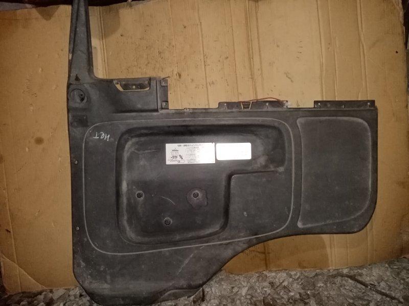 Обшивка двери Isuzu Forward FRR33 6HH1 1995 передняя правая