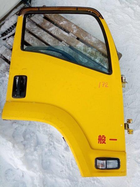 Дверь Isuzu Forward FRR90 4HK1 2011 передняя правая