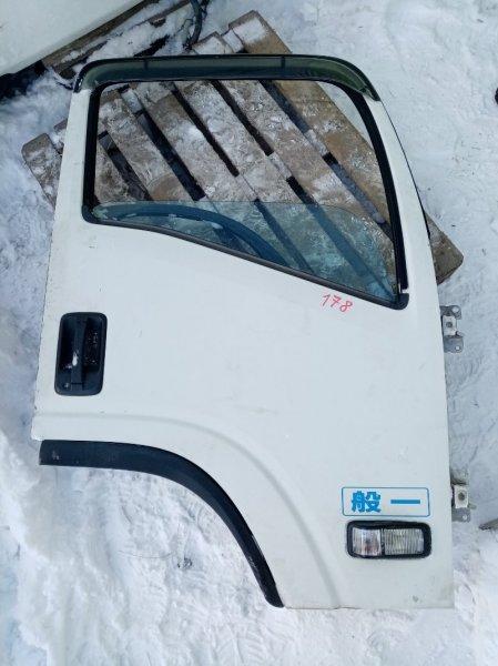 Дверь Isuzu Elf NPR85 4JJ1 2008 передняя правая