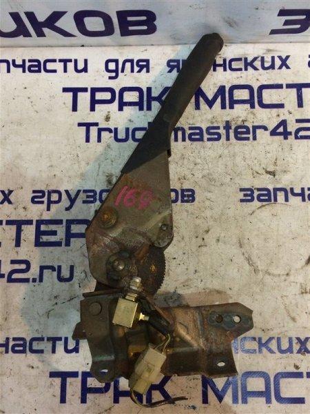 Ручка ручного тормоза Isuzu Forward FRR34L 6HK1 2004