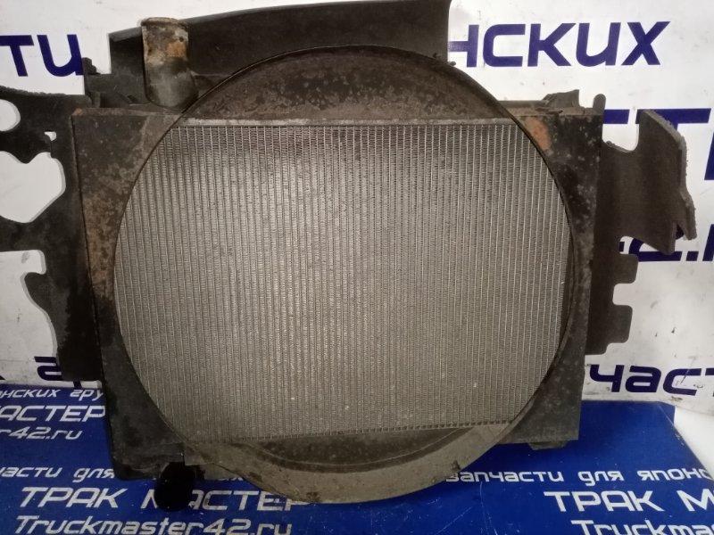 Радиатор охлаждения двигателя Nissan Diesel MK25A FE6 2004
