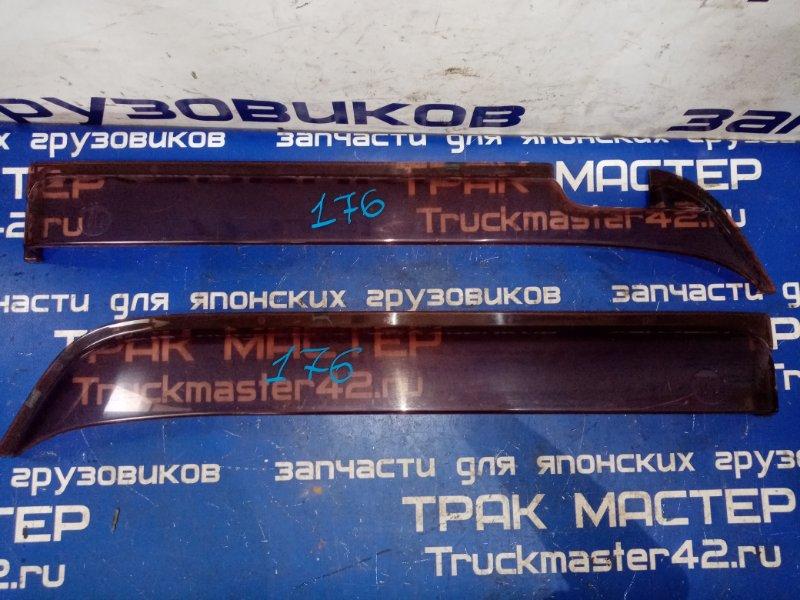 Ветровики комплект Nissan Diesel MK25A FE6 2004