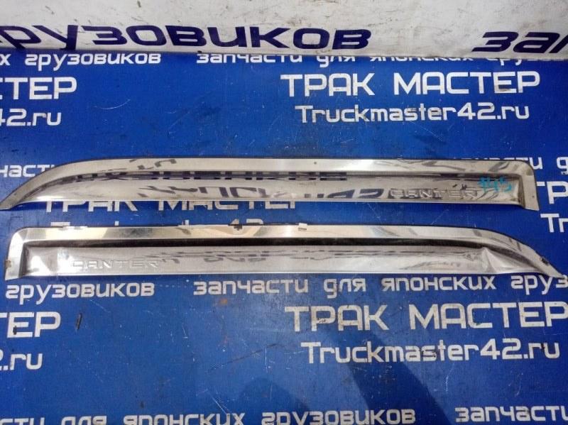 Ветровики комплект Mitsubishi Canter FB511B 4M40 1996