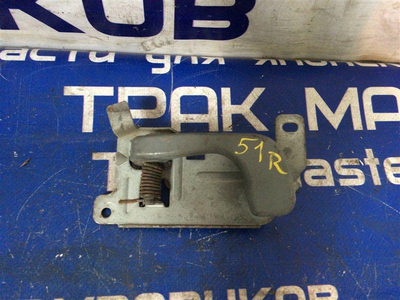 Ручка двери внутренняя Mitsubishi Canter FE53EB 4M51 1999 передняя правая