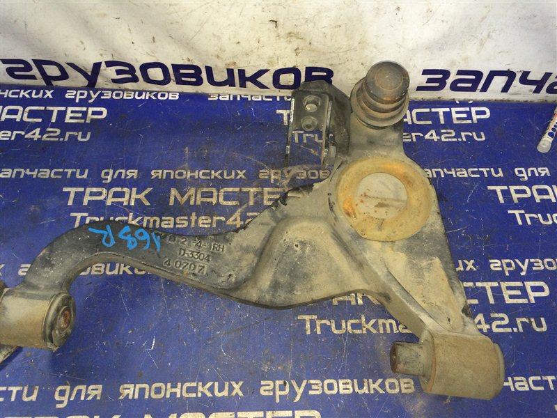Рычаг подвески Isuzu Elf NPR81 4HF1 2005 передний правый нижний