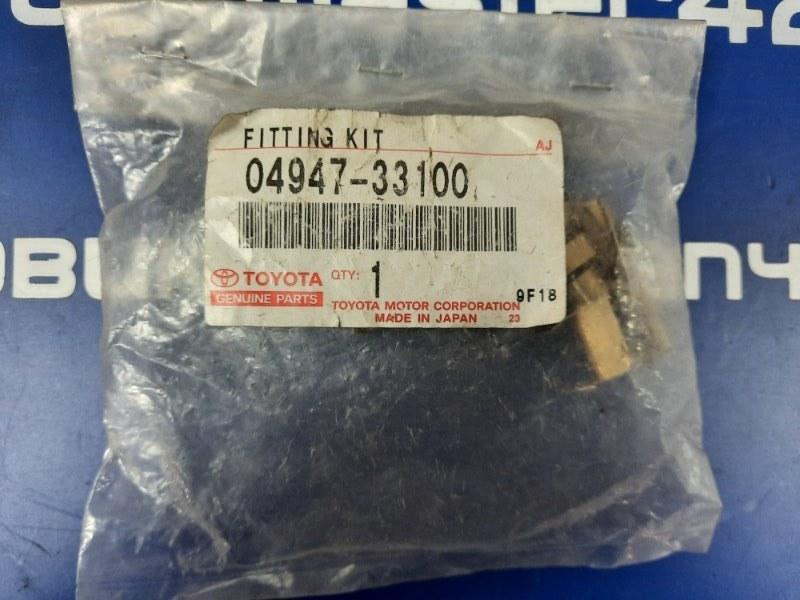 Скоба тормозной колодки Toyota