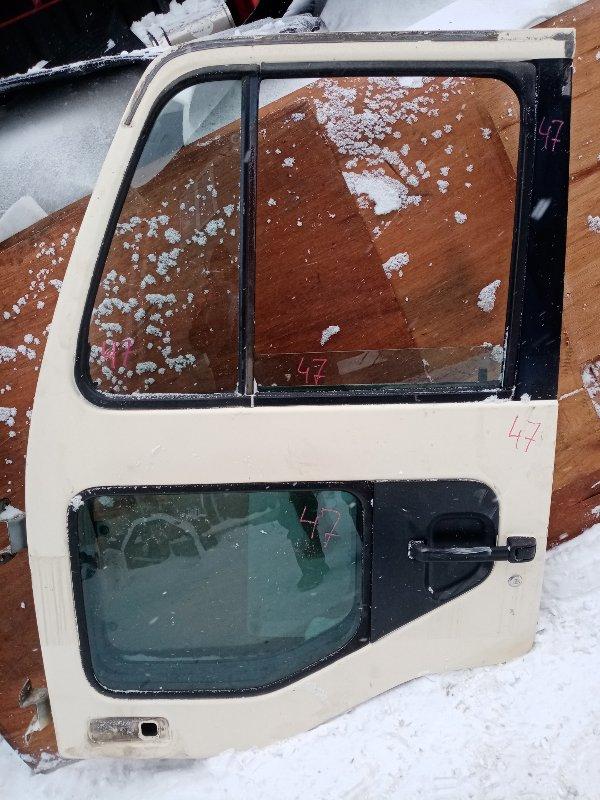 Дверь Nissan Diesel MK21A FE6 2004 передняя левая