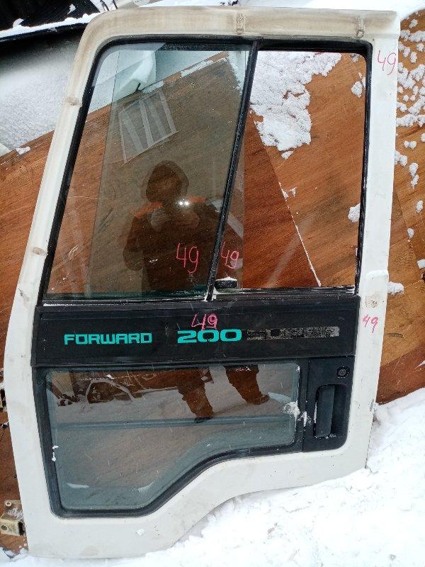 Дверь Isuzu Forward FRR13JB 6SA1 1992 передняя левая