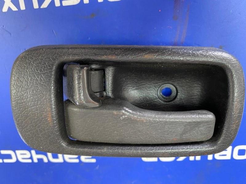 Ручка двери внутренняя Isuzu Forward FRR34L 6HK1 2006 передняя левая
