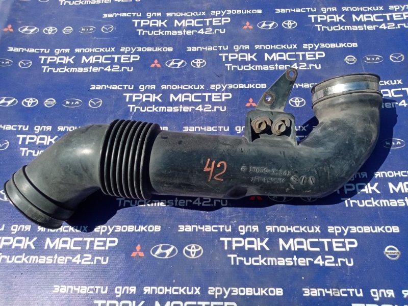 Патрубок воздухозаборника Hino Dutro XZU433M J05D 2006