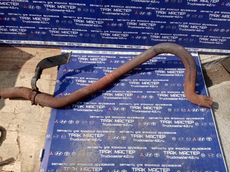 Труба глушителя Mitsubishi Canter FEB50 4P10 2012