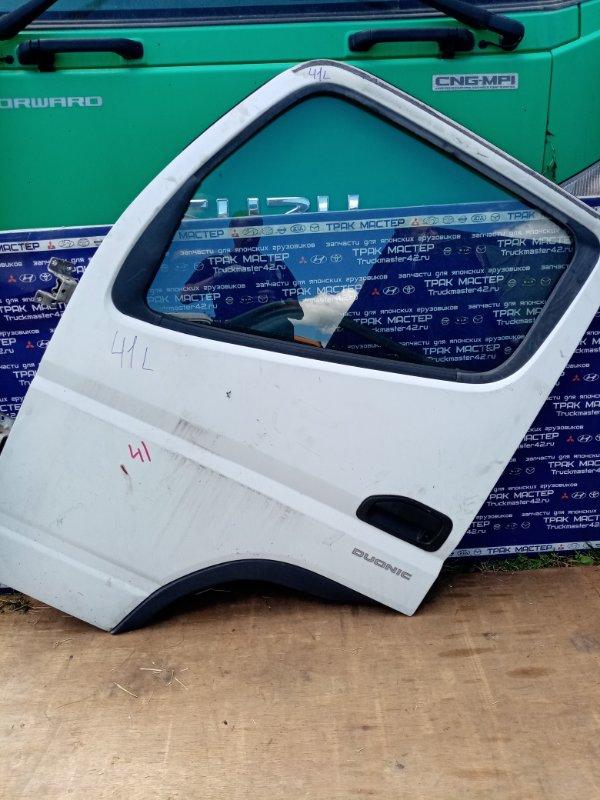 Дверь Mitsubishi Canter FEB50 4P10 2012 передняя левая