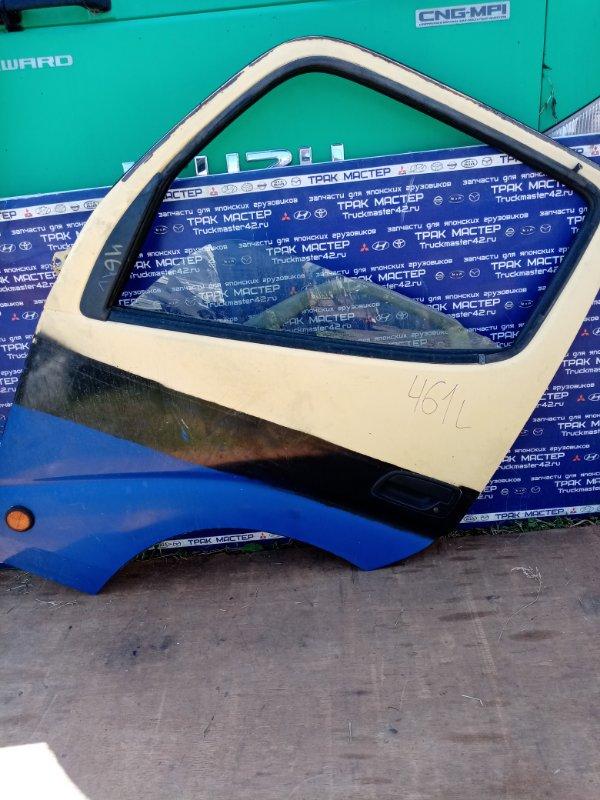 Дверь Hino Dutro XZU341 S05D 1999 передняя левая