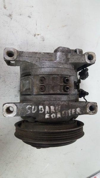 Компрессор кондиционера Subaru Forester