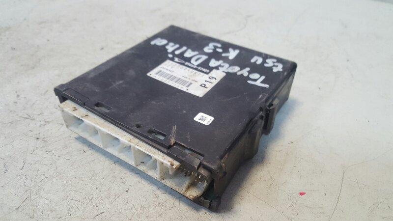 Блок управления двигателем двс эбу Toyota Cami K3-VE