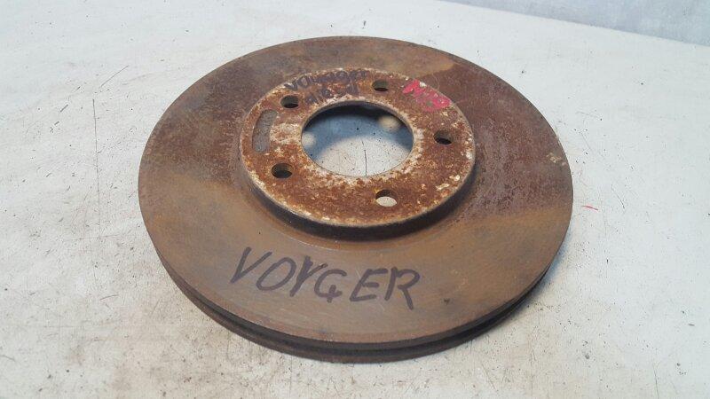 Тормозной диск Chrysler Voyager HR425CLI 1992 передний