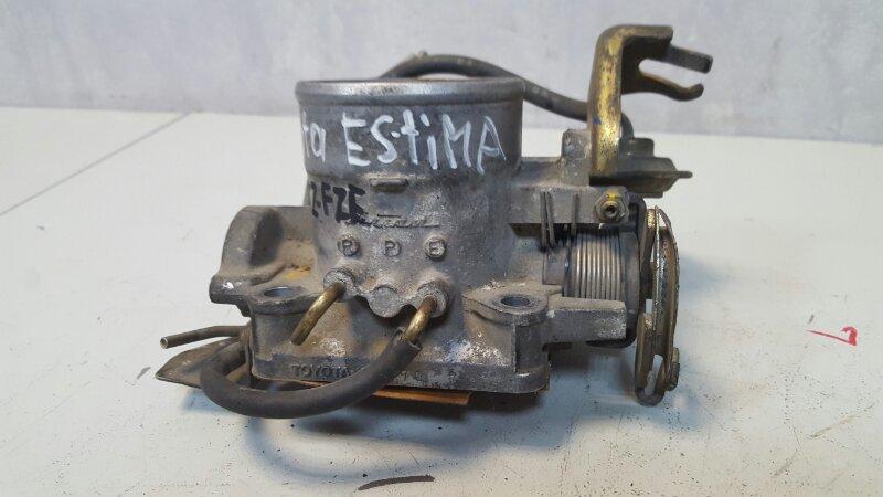 Дроссельная заслонка Toyota Estima TCR10W 2TZFZE 1998