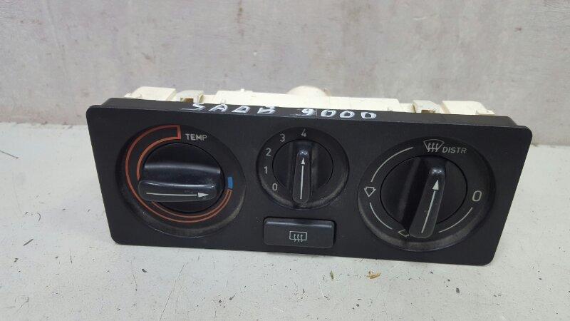 Блок управления климатом печкой отопителем Saab 9000 YS3C B202XI 1986