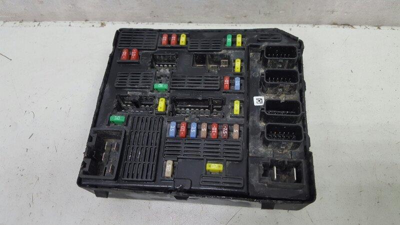 Блок предохранителей Renault Fluence L30 K4M 2012