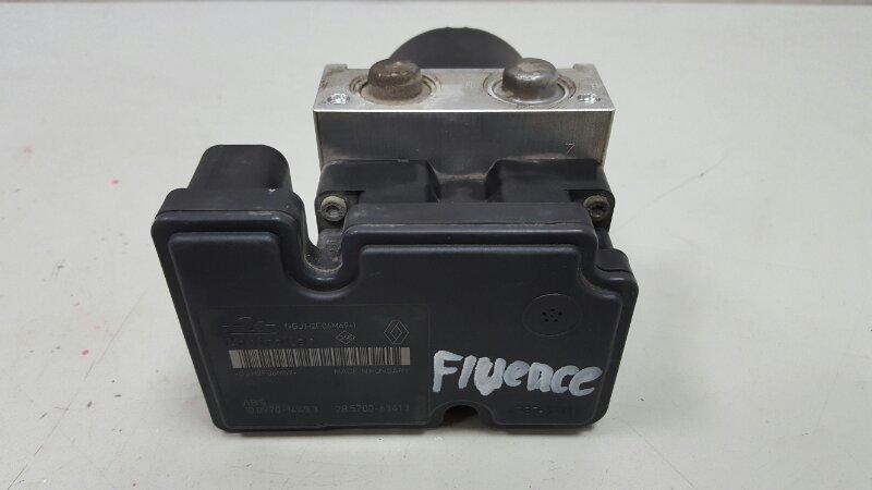 Блок abs Renault Fluence L30 K4M 2012